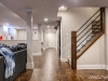 Basement Renovation Custom Railing Design
