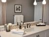 Bathroom Pendants Header over Mirror