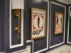 Home Theatre Room Brass Sconces Vintage Movie Poster