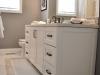 Main Bath Vanity & Tile Floor Design