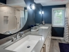 Main bath renovation design boys bath navy blue