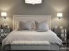Master Bedroom Upholstered Headboard Custom Bench