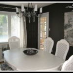 dining room furniture after; painted dining room furniture