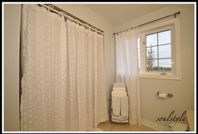 Bathroom Shower Curtains DIY