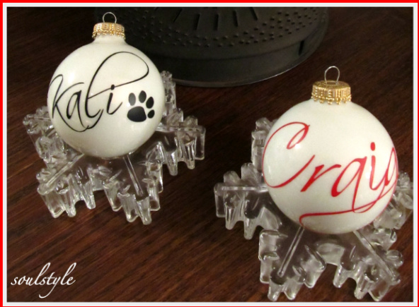 Personalized Christmas Ornament. win a personalized christmas ...