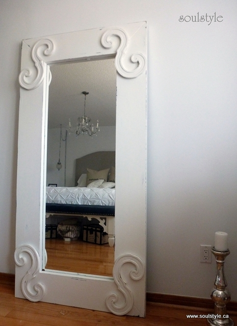 Remodelaholic Standing Full Length Mirror Door