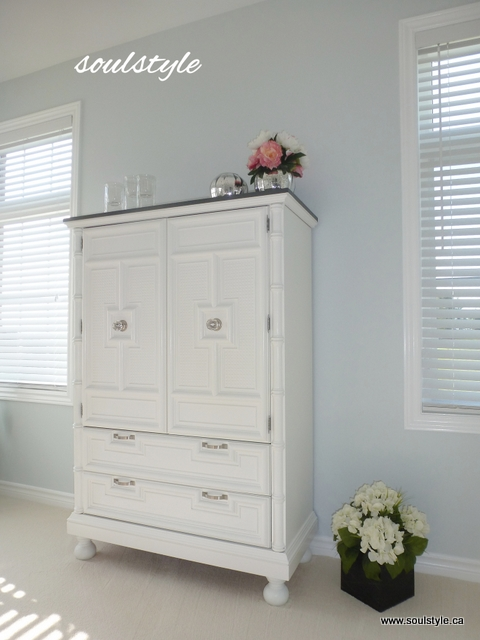 painted dresser DIY