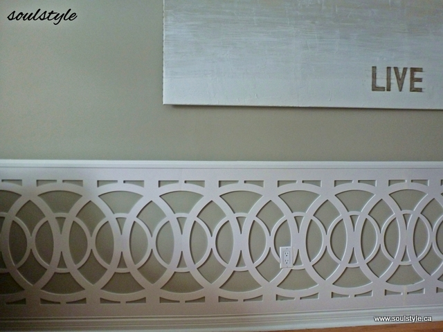 Custom Wainscot Design