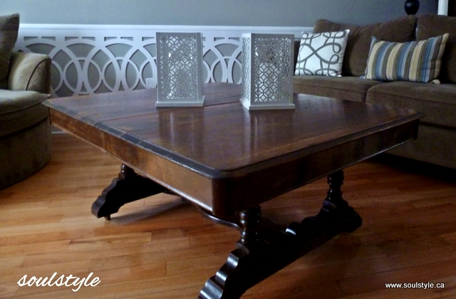 Dining table to Coffee Table