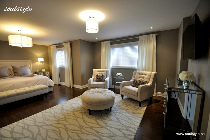 Master bedroom renovation re design 2 soulstyle for Master bedroom interior design images