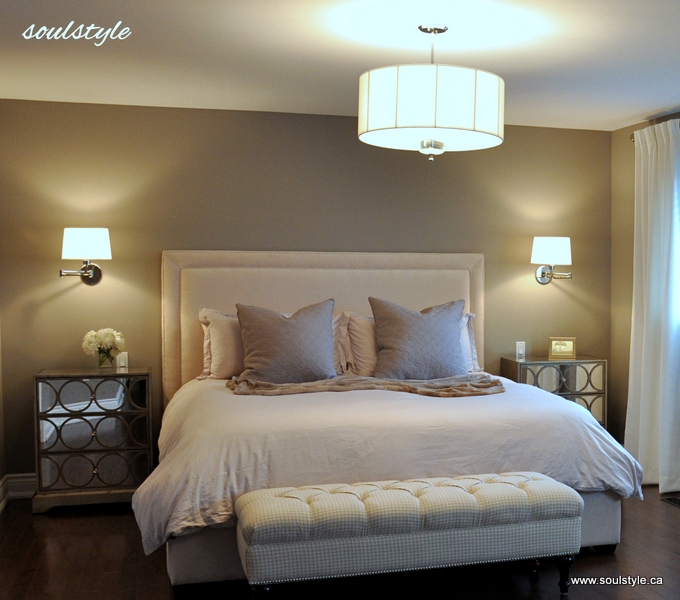 headboard ideas for master bedroom upholstered headboard amp bench soulstyle interiors and design 18855