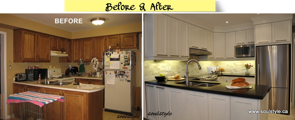 Kitchen design renovation for Small kitchen remodel before and after